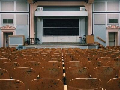 Classroom auditorium.