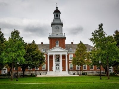 Photo of John Hopkins University.