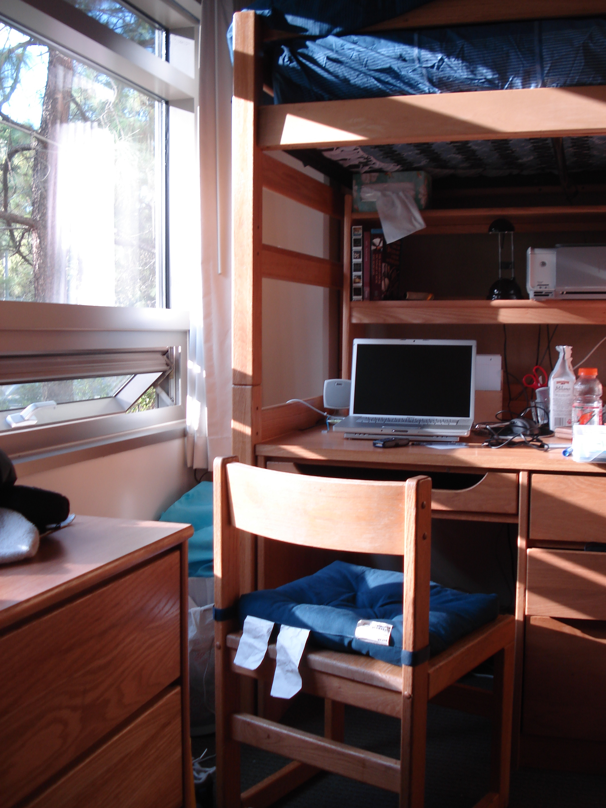 Even the neatest and tidiest dorm room can be crawling with germs.