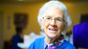 Common infections in the elderly are most likely to occur because their immune systems are vulnerable.