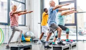 Common infections in the elderly are most likely to occur in retirement homes, gyms, spas, and healthcare facilities.