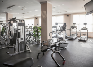 Keeping your gym clean has rewards.