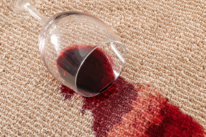 Cleaning up after spills should be apart of your cleaning schedule