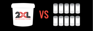 2XL rolls cost less than canisters