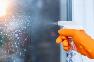 Be sure to wash your windows during spring cleaning.