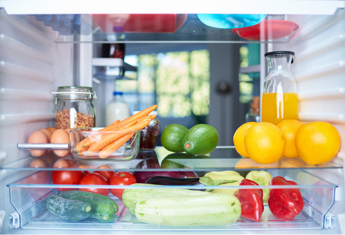 Storing food properly is an important food safety step.