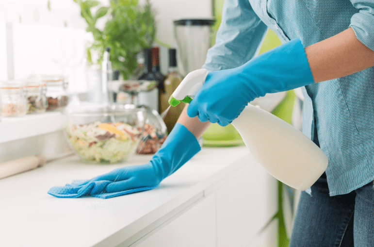 How to disinfect without bleach.
