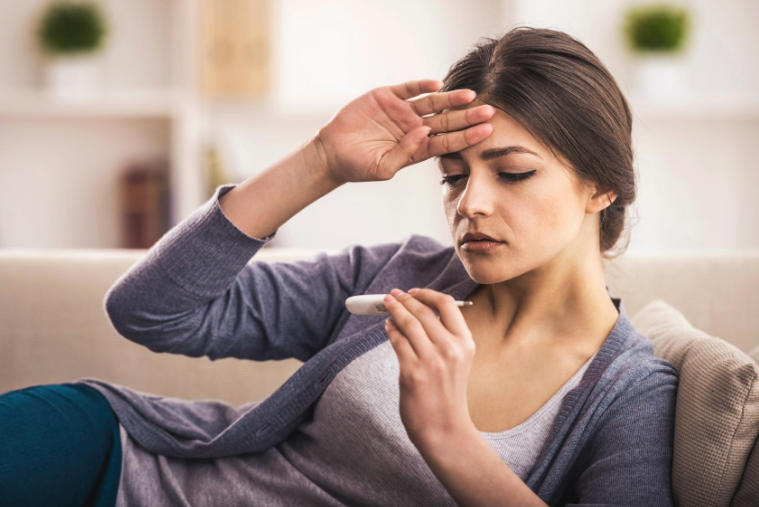 Fever is a sign of food poisoning in most cases