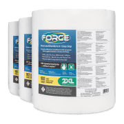 Front view of Force wipes, group shot.