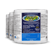 Front view of Antibacterial Force Wipes, group shot.